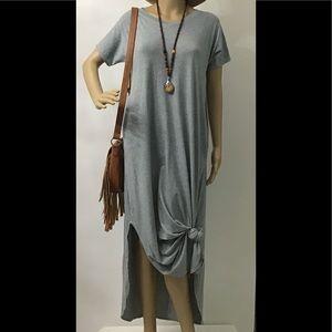 💕Gray Maxi Dress NWOT